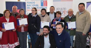 Certificación  Fondo Nacional del Adulto Mayor de Senama